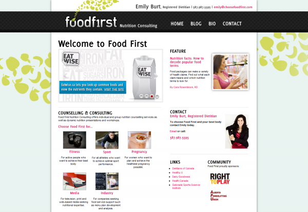 Food First - Home Page