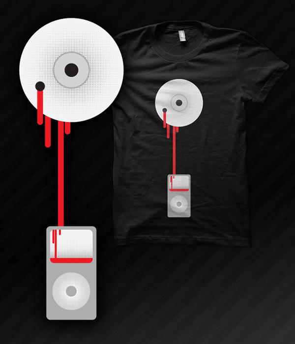 Dead Format - T-Shirt Design