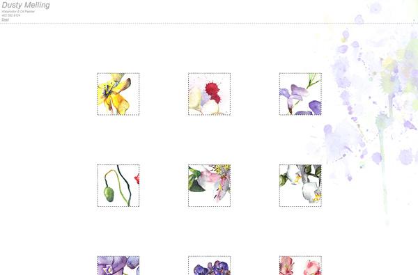 Dusty Melling - Website Screenshot