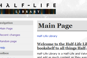Half-Life Library Preview