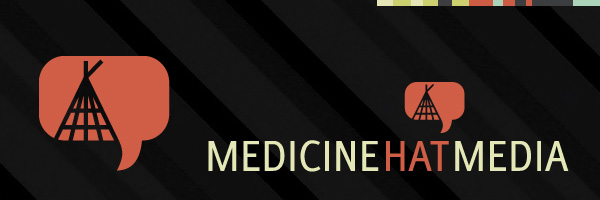 Medicine Hat Media Logo & Icon