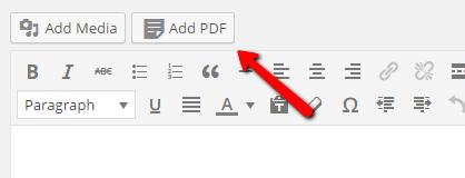 Pdf Link In Wordpress