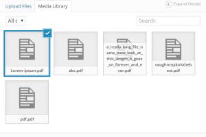 Add PDF Media